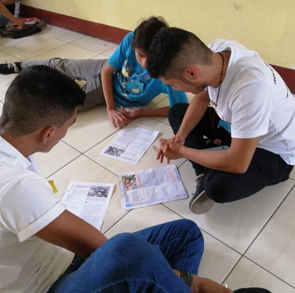 Người trẻ và DOCAT tại Cuilapa, Guatemala
