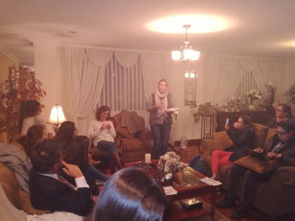 Các bạn trẻ chia sẻ DOCAT tại Bolivia